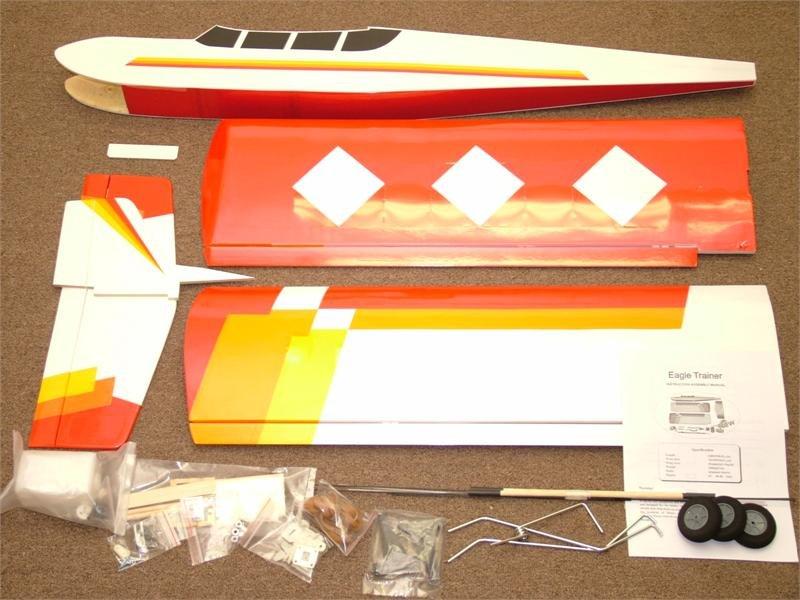Image 1 of Eagle Trainer 40 ARF electric or nitro