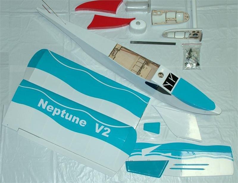 Image 3 of Neptune Boat Plane V2 Nitro or electric