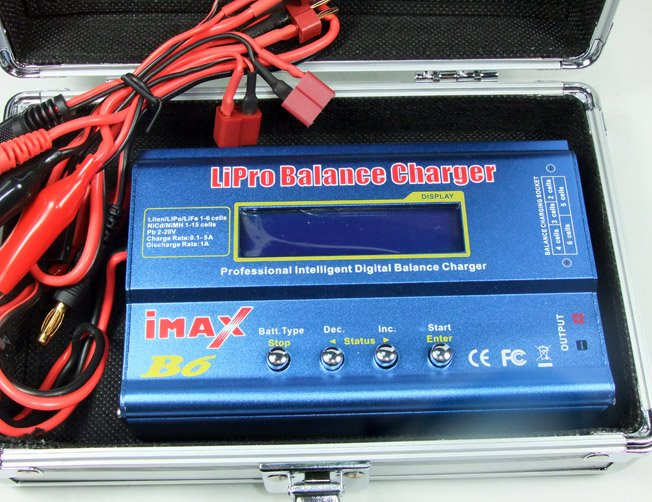 Image 3 of iMax B6 1 to 6cells LiPo Balance / NiMH / NiCd / Li-ion / Pb 2V or 20V Digital C
