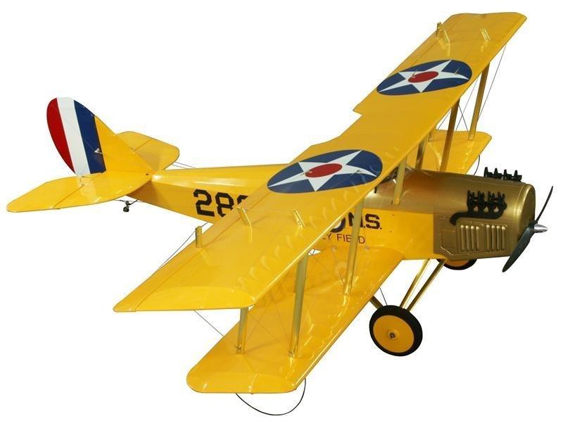 Image 3 of 20% Curtiss Jenny ARF 40-50cc Gasoline 105