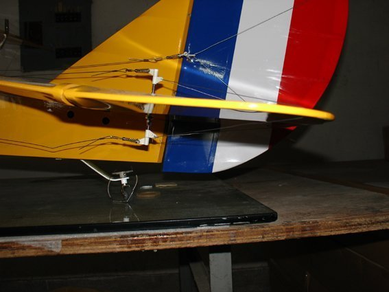 Image 4 of 20% Curtiss Jenny ARF 40-50cc Gasoline 105