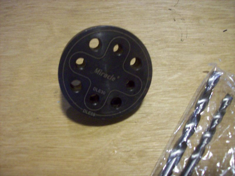 Image 0 of Drill Jig for DLE30 / DLE55 / MLD28 / DA50 /EVO54/PTE36R
