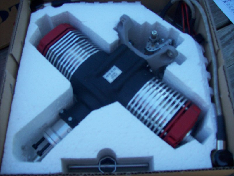 Image 1 of ROTO 70V2 Two Stroke Gasoline Aircraft Engine