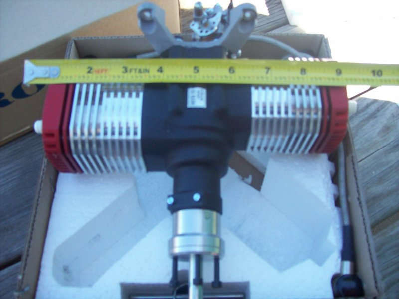 Image 2 of ROTO 70V2 Two Stroke Gasoline Aircraft Engine