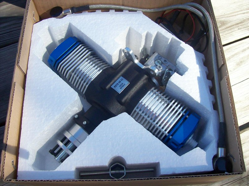 Image 0 of ROTO 50V2 Two Stroke Gasoline Aircraft Engine