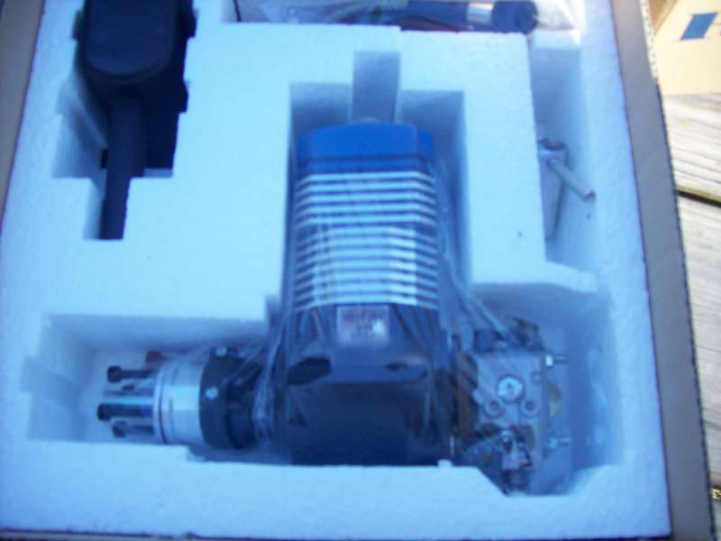Image 2 of ROTO 25V Two Stroke Gasoline Aircraft Engine