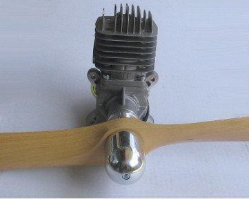 Image 1 of Scale Prop nut for DLE20 Enya 120 all YS 4 stroke