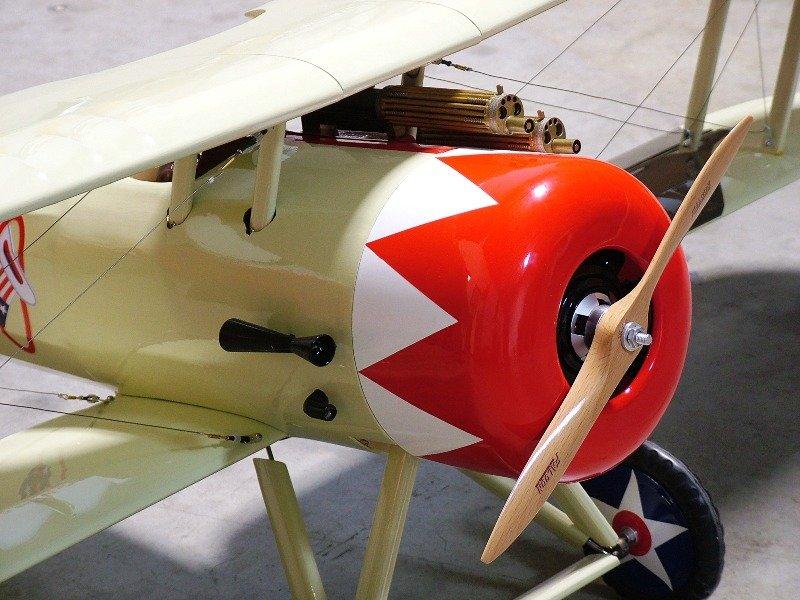 Image 1 of 1/5 Nieuport-28 Gas/Glow/EP ARF