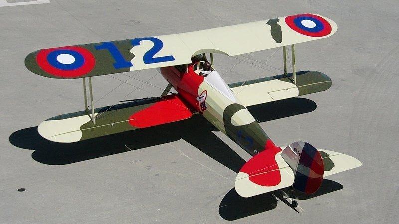 Image 2 of 1/5 Nieuport-28 Gas/Glow/EP ARF