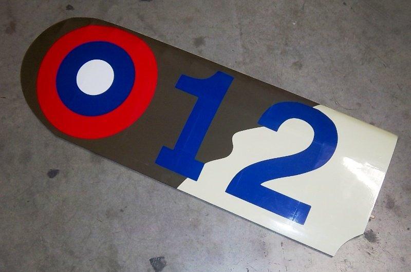 Image 3 of 1/5 Nieuport-28 Gas/Glow/EP ARF