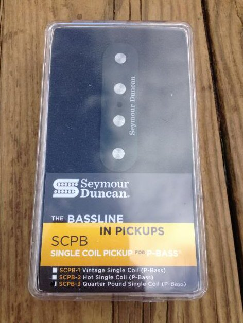 Seymour Duncan SCPB-3 Quarter Pound Single Coil Precision P Bass PICKUP