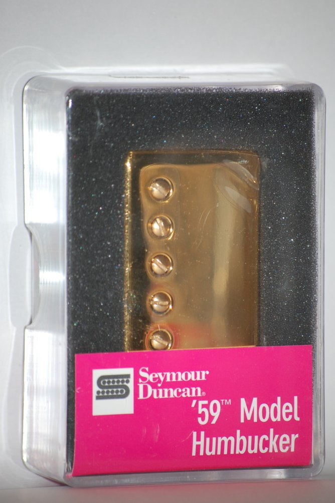 Image 0 of Seymour Duncan SH-1n 59 GOLD Humbucker Electric Guitar Pickup