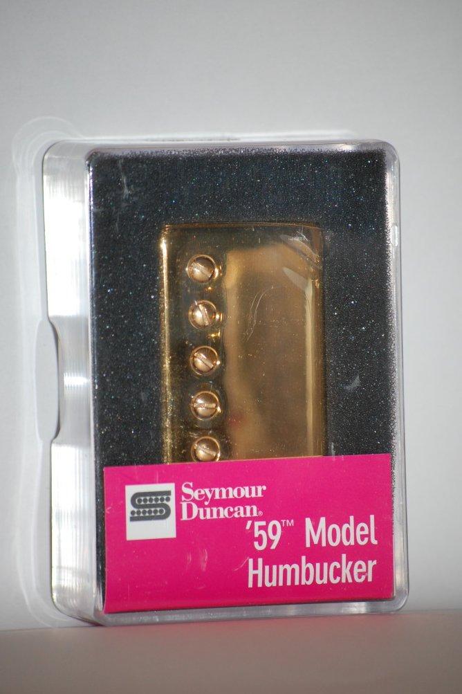 Image 1 of Seymour Duncan SH-1n 59 GOLD Humbucker Electric Guitar Pickup