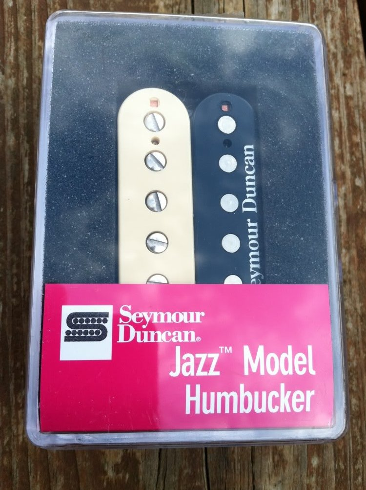 Seymour Duncan SH-2n Jazz Model Humbucker Guitar PICKUP Zebra Neck Rhythm - NEW