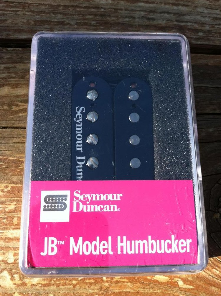 Seymour Duncan JB MODEL HUMBUCKER Guitar Pickup, BLACK SH-4 Bridge Position NEW
