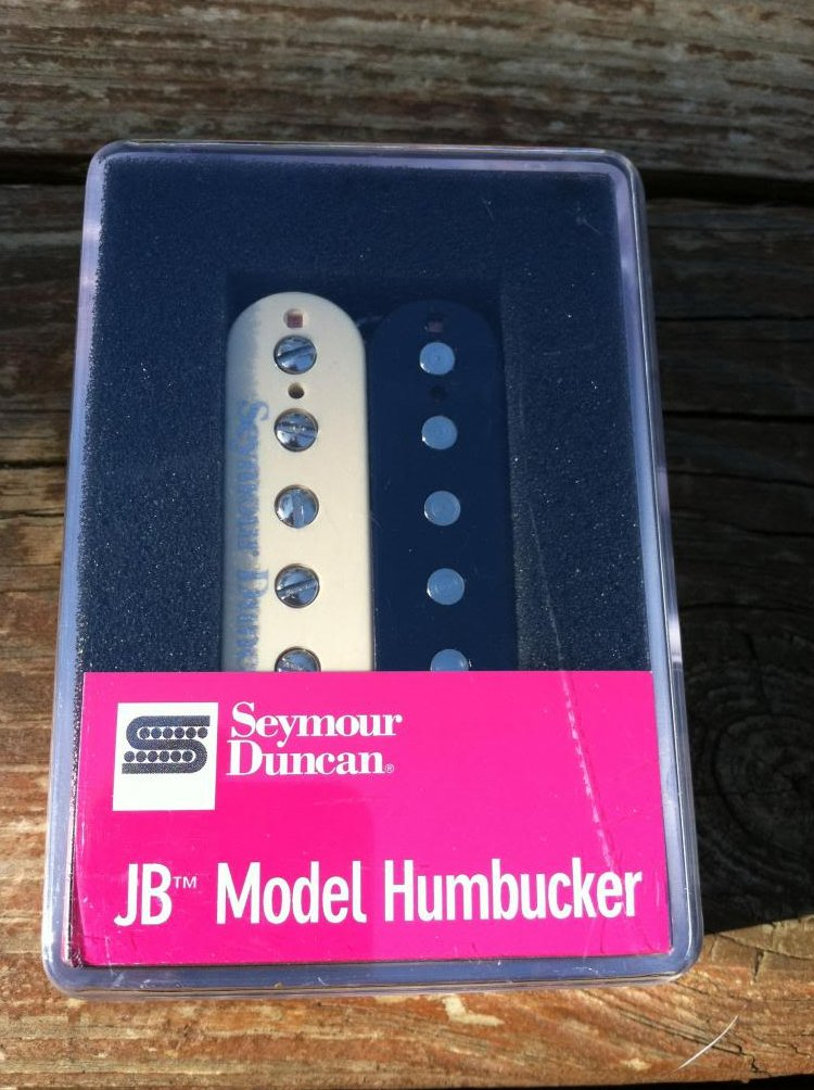 Seymour Duncan SH-4 JB ZEBRA Humbucker Electric Guitar Pickup