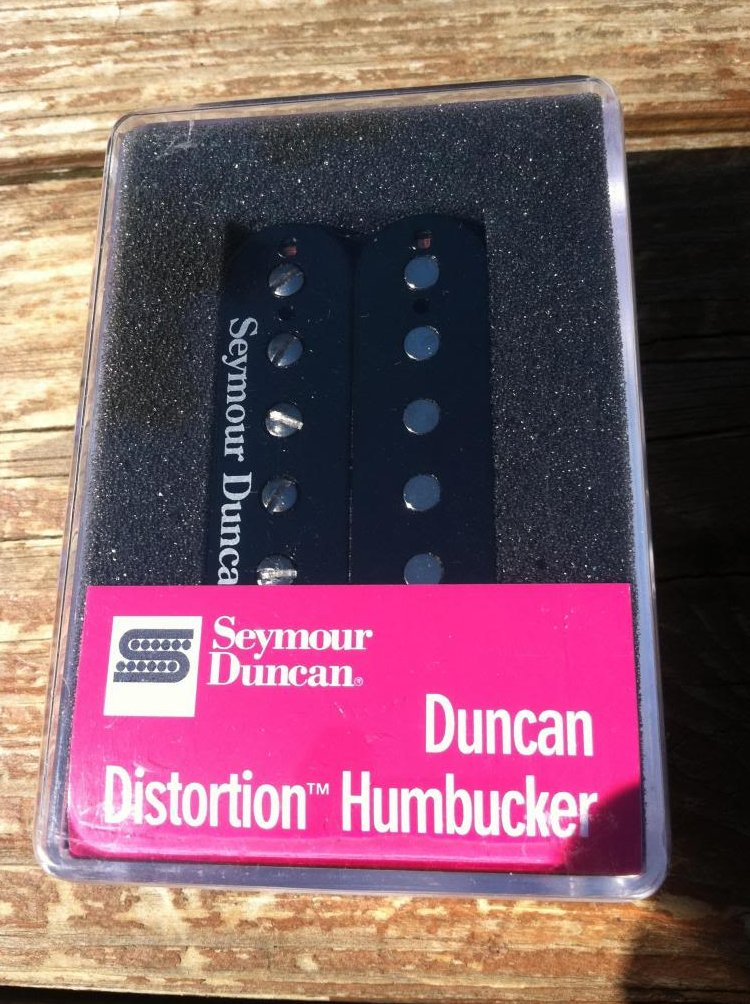 Seymour Duncan SH-6b Distortion Humbucker Pickup Bridge BLACK Electric Guitar