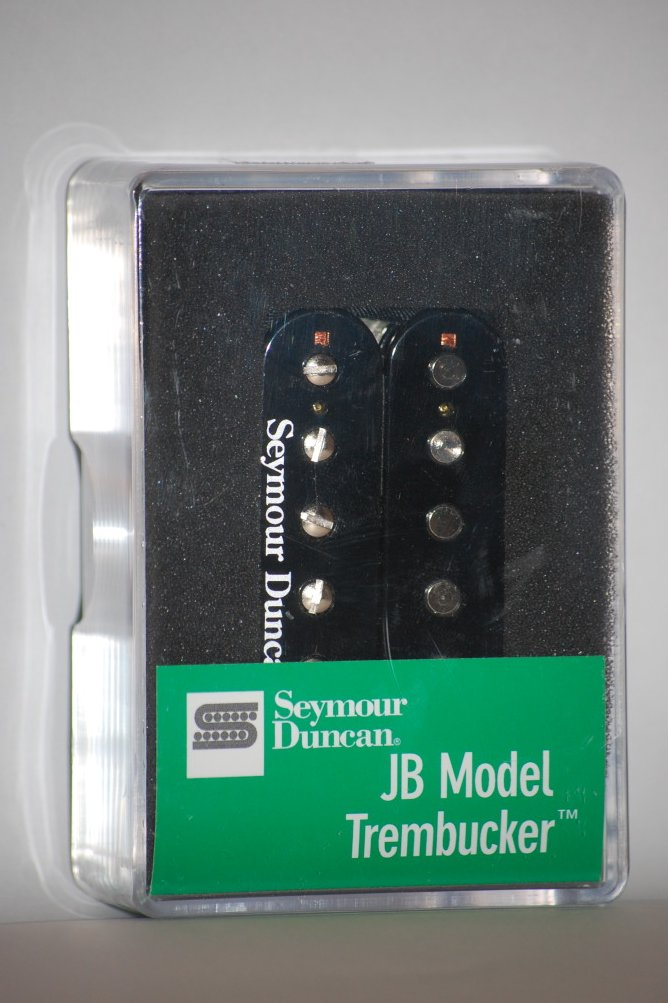 Seymour Duncan TB-4 JB Trembucker Humbucker Pickup Bridge Black Floyd Rose