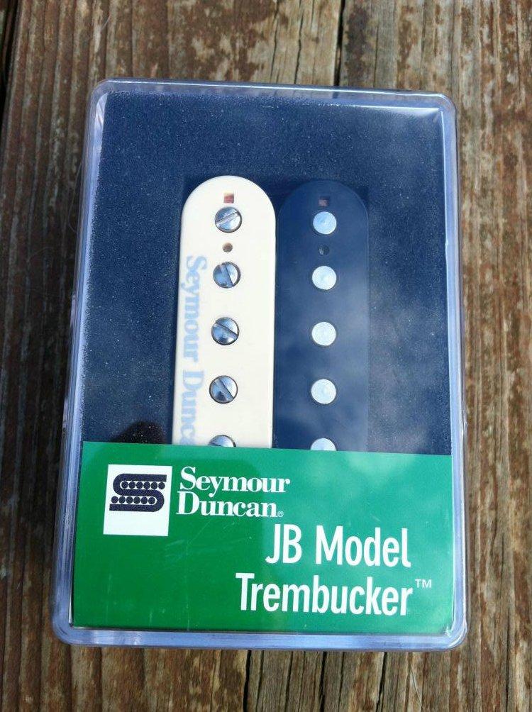 Seymour Duncan TB-4 JB Trembucker Humbucker Pickup ZEBRA Guitar - NEW