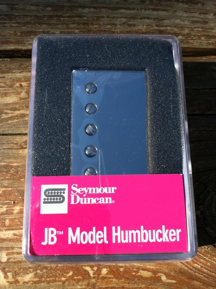 Seymour Duncan SH-4 JB SILVER Nickel Humbucker Electric Guitar Pickup