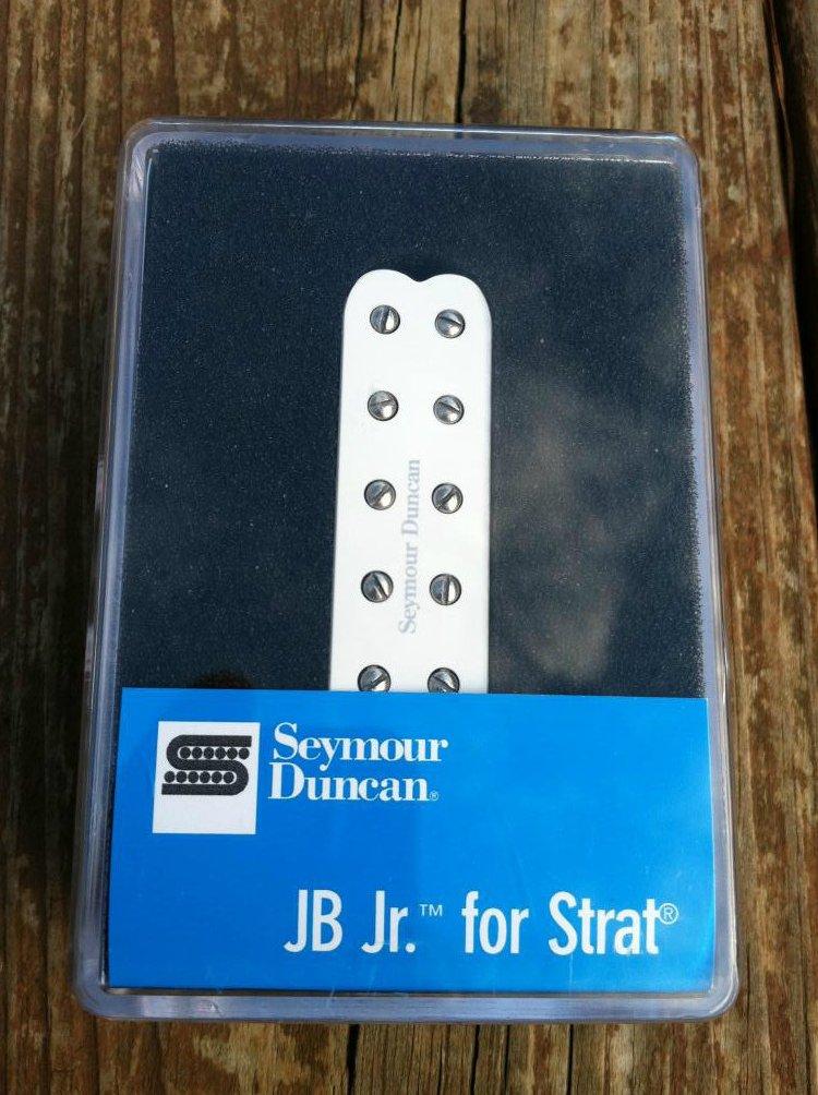 Image 0 of Seymour Duncan SJBJ-1b JB Jr Strat Pickup BRIDGE WHITE - Fender Stratocaster NEW