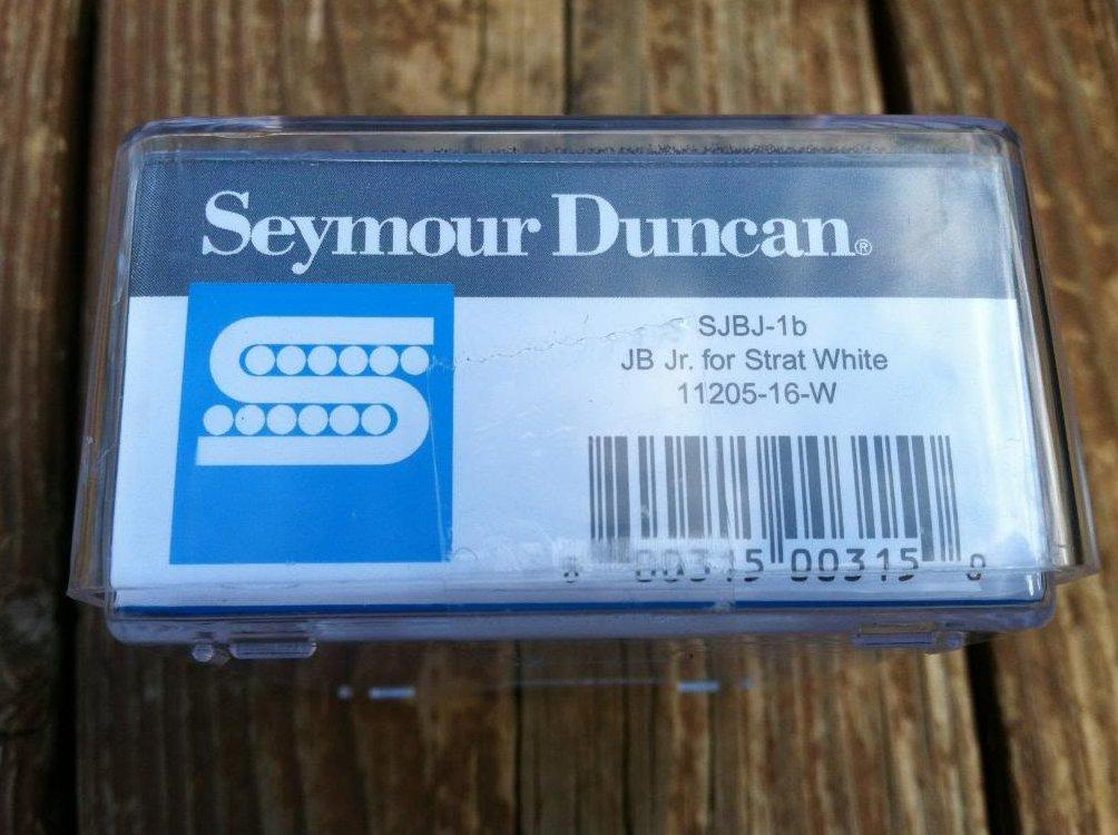 Image 2 of Seymour Duncan SJBJ-1b JB Jr Strat Pickup BRIDGE WHITE - Fender Stratocaster NEW