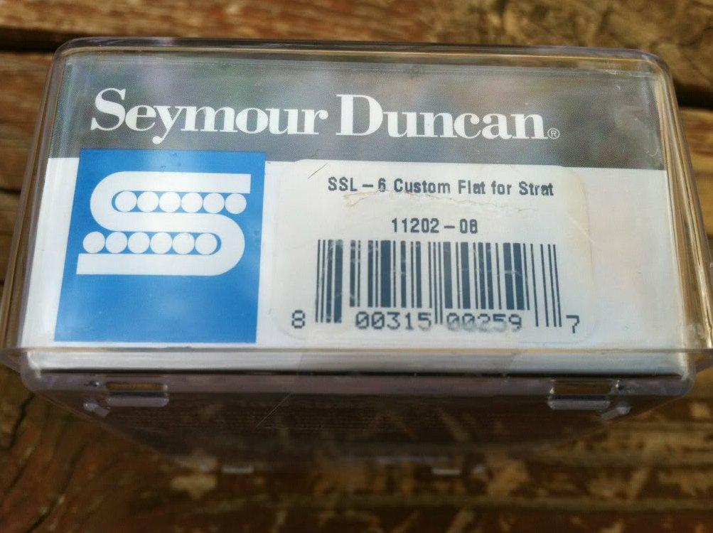Image 2 of Seymour Duncan SSL-6 Custom For Strat PICKUP White for Fender Stratocaster NEW