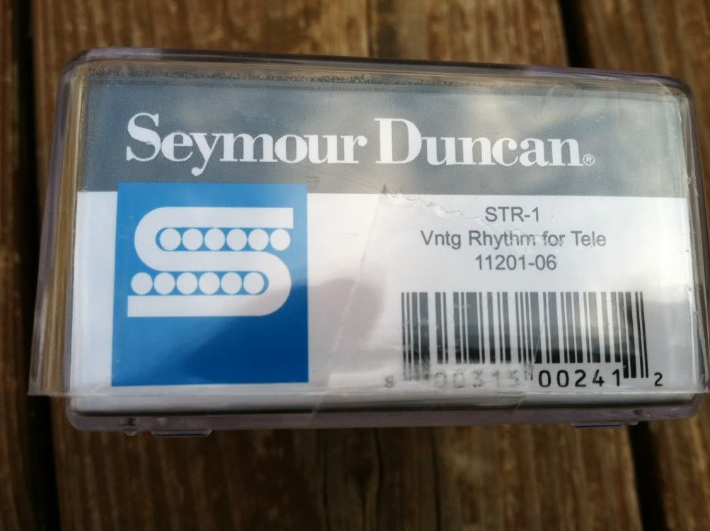 Image 2 of Seymour Duncan STR-1 Vintage Rhythm Tele PICKUP Neck for Fender Telecaster - NEW