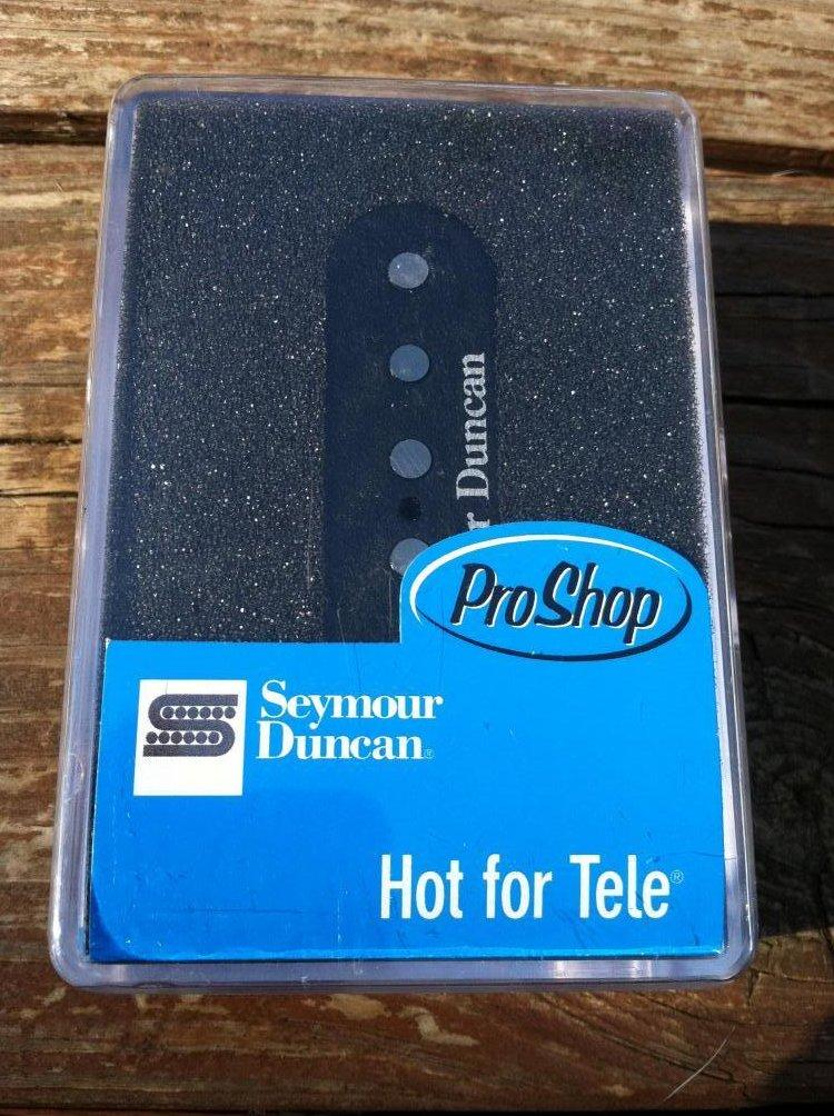 Image 0 of Seymour Duncan STL-2 Hot Lead Tele PICKUP Bridge for Fender Telecaster Guitar