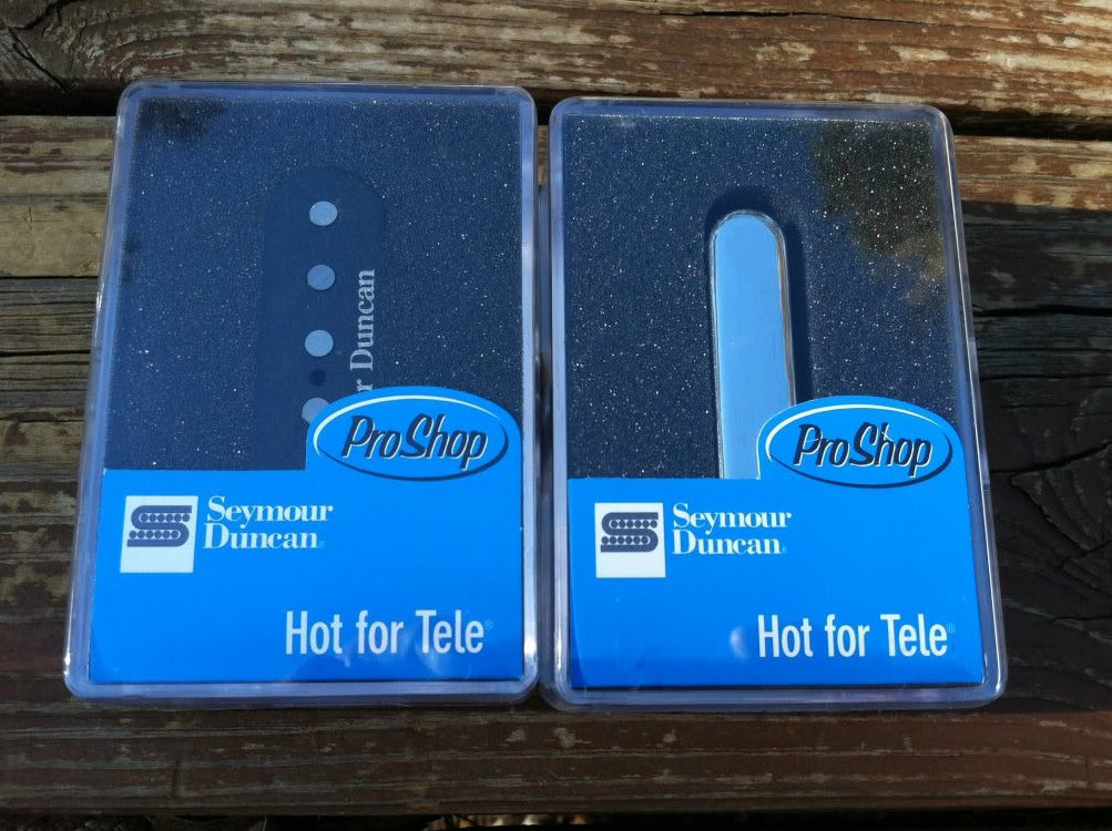 Image 0 of Seymour Duncan STL-2 Hot Lead & STR-2 Hot Rhythm for Tele Telecaster Pickup Set
