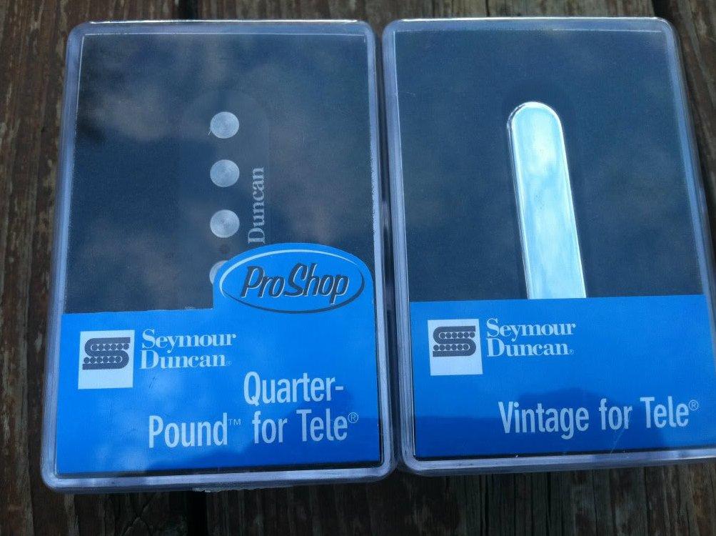 Seymour Duncan STL-3 Quarter Pound STR-1 Vintage Tele PICKUP SET Telecaster NEW