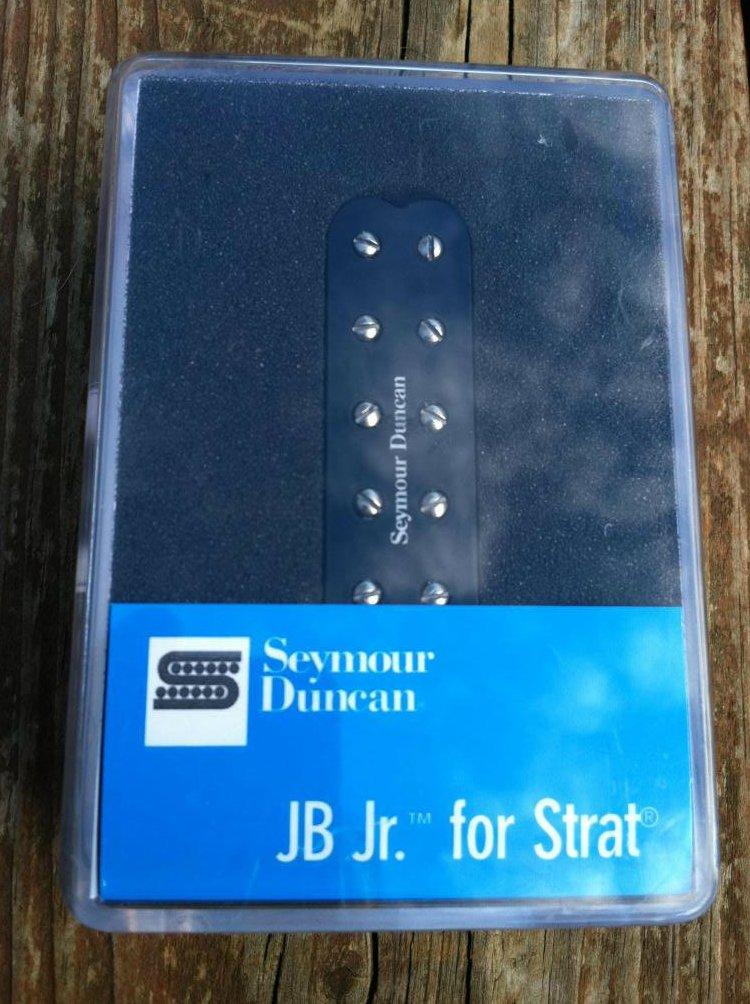 Seymour Duncan SJBJ-1n JB Jr Strat Pickup Middle/Neck BLACK Fender Stratocaster