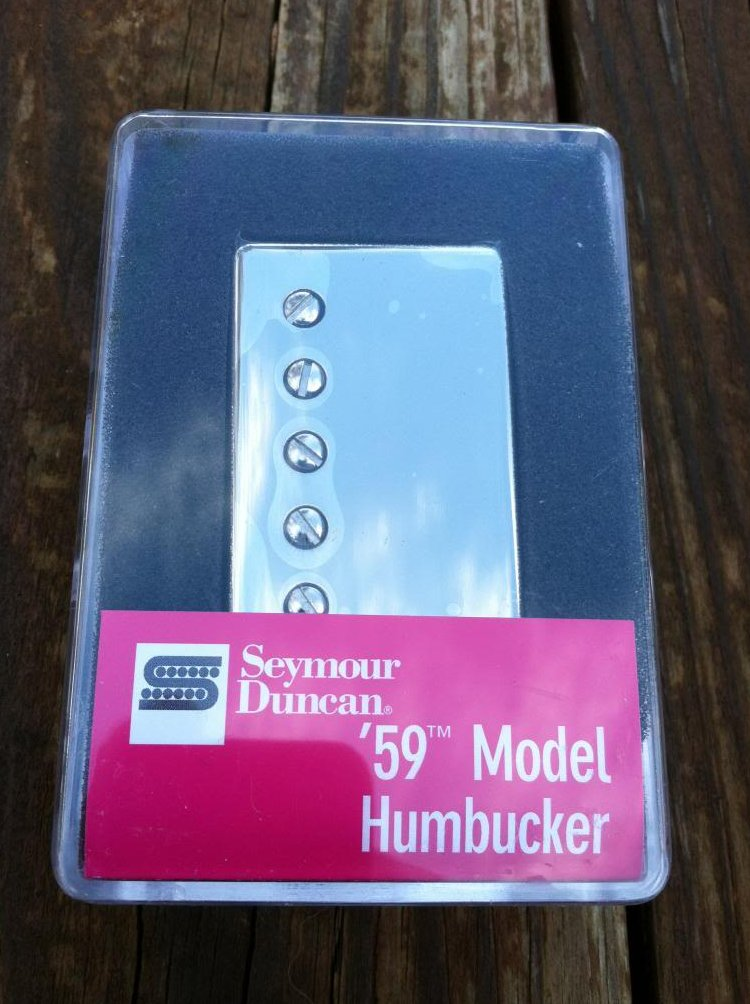 Image 0 of Seymour Duncan SH-1 59 Model Humbucker Pickup Neck NICKEL Electric Guitar PAF