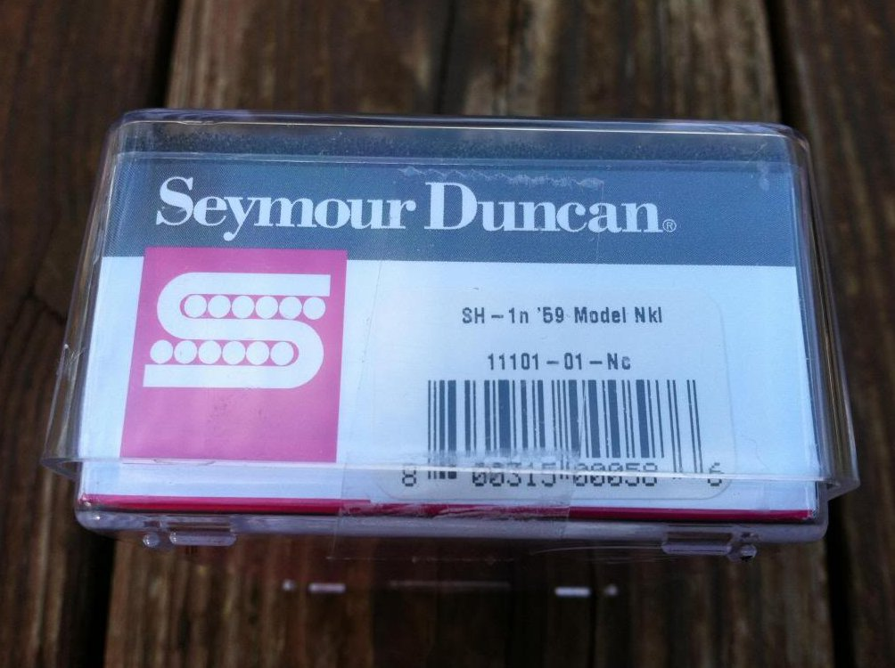 Image 2 of Seymour Duncan SH-1 59 Model Humbucker Pickup Neck NICKEL Electric Guitar PAF