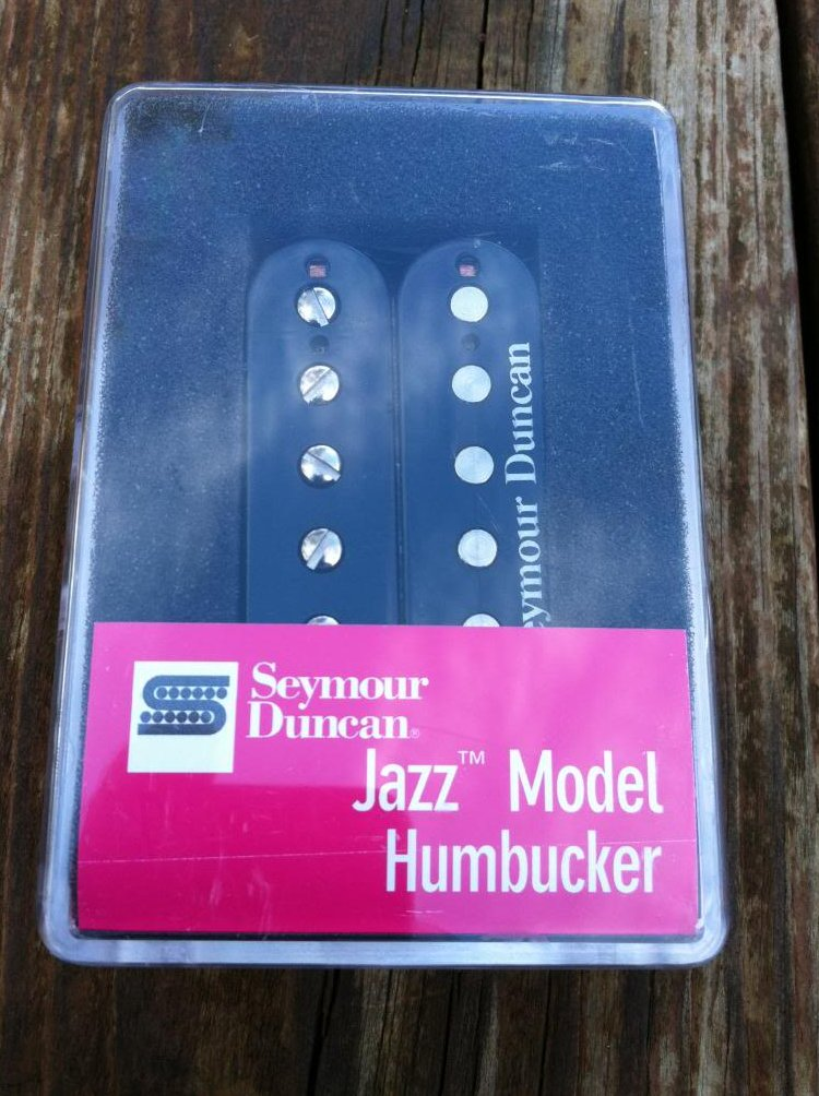 Seymour Duncan SH-2 Jazz Model Humbucker Guitar Pickup BLACK Neck Rhythm - NEW