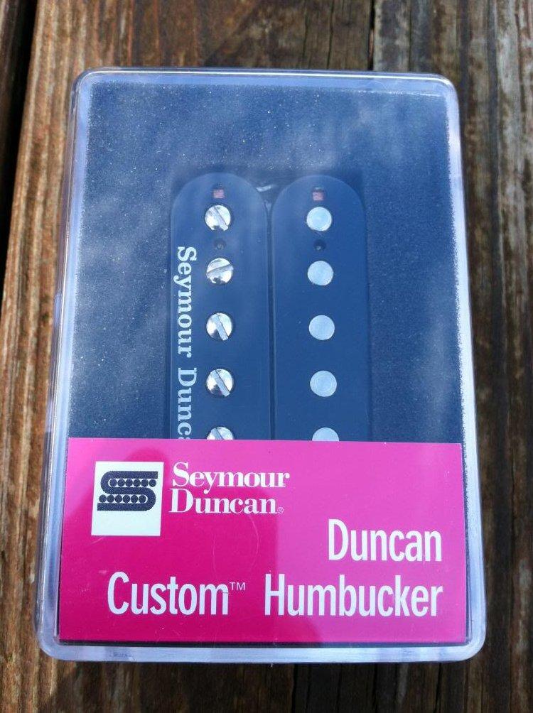 Seymour Duncan SH-5 Custom BLACK PAF Ceramic Humbucker Pickup - NEW