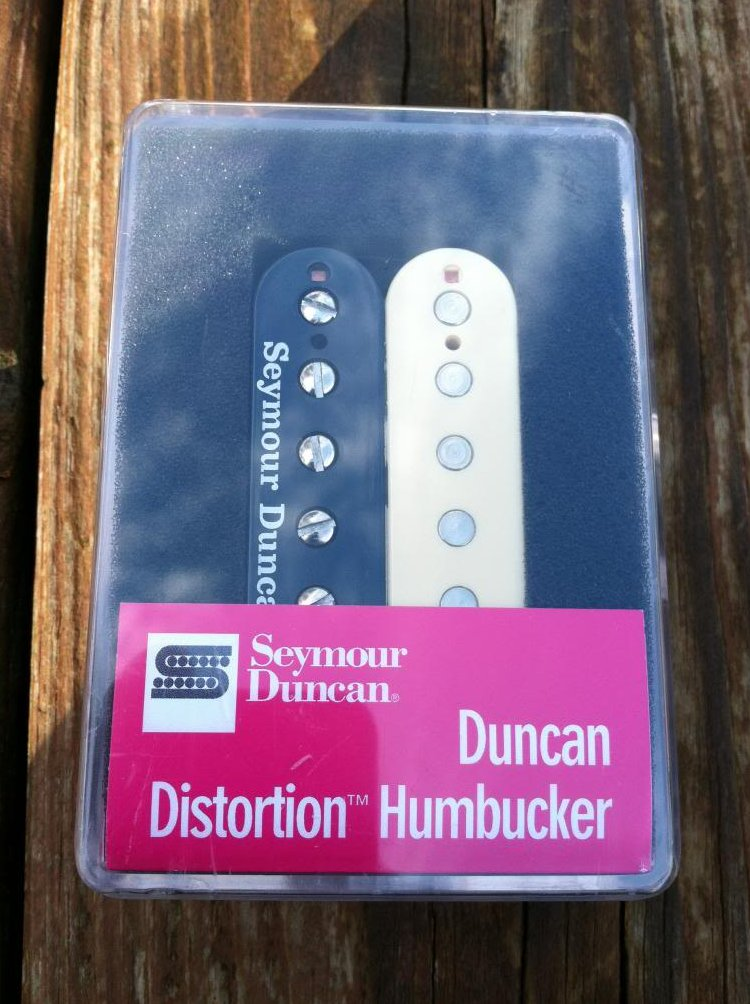 Seymour Duncan Distortion SH-6 Humbucker Pickup Bridge REVERSE ZEBRA - NEW