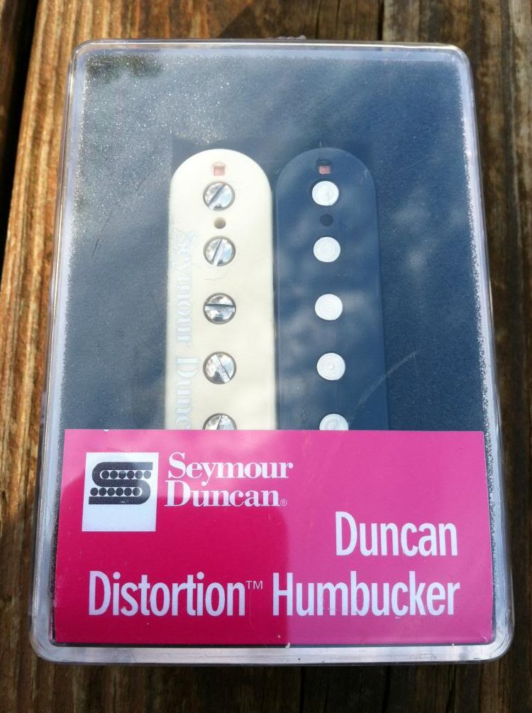 Image 0 of Seymour Duncan Distortion SH-6 Humbucker Pickup Bridge ZEBRA - NEW