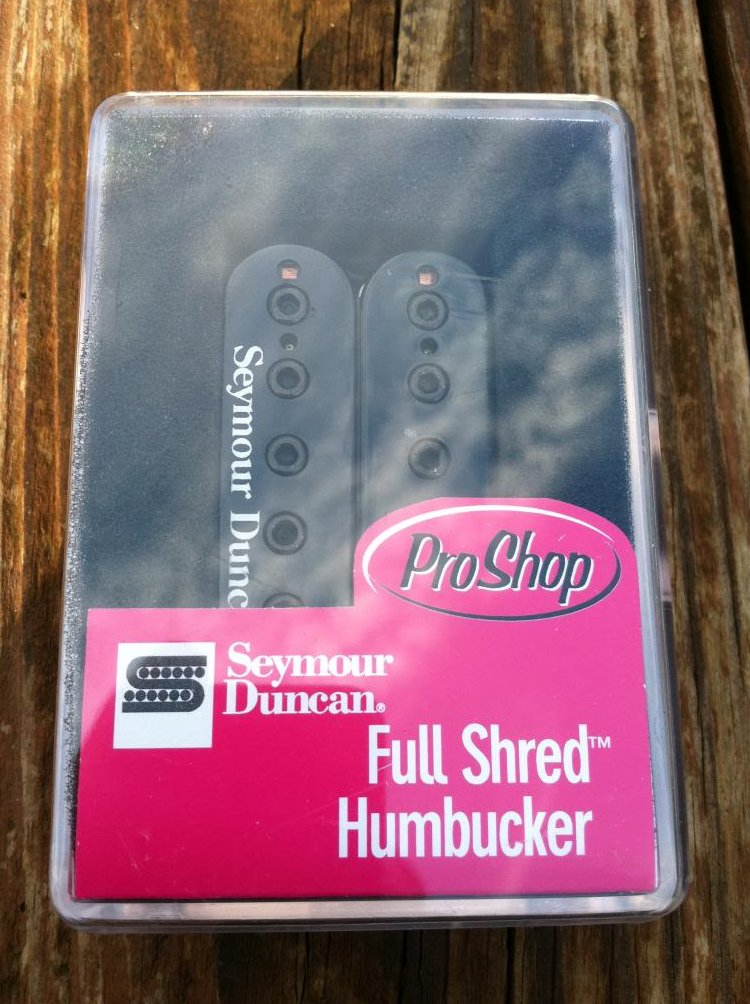 Seymour Duncan SH-10 Full Shred Humbucker Neck Pickup BLACK Metal High Output