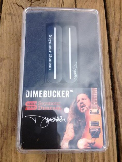 Seymour Duncan SH-13 Dimebucker Humbucker Bridge Pickup BLACK Ceramic Blade