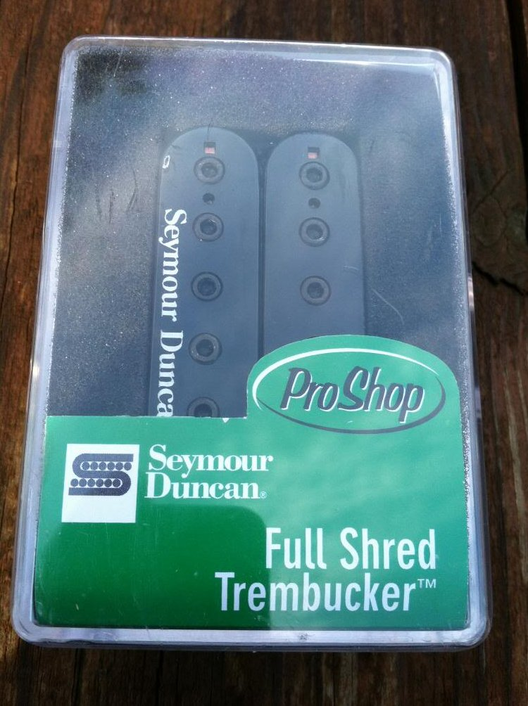 Seymour Duncan TB-10 Full Shred Trembucker Bridge Humbucker BLACK - NEW