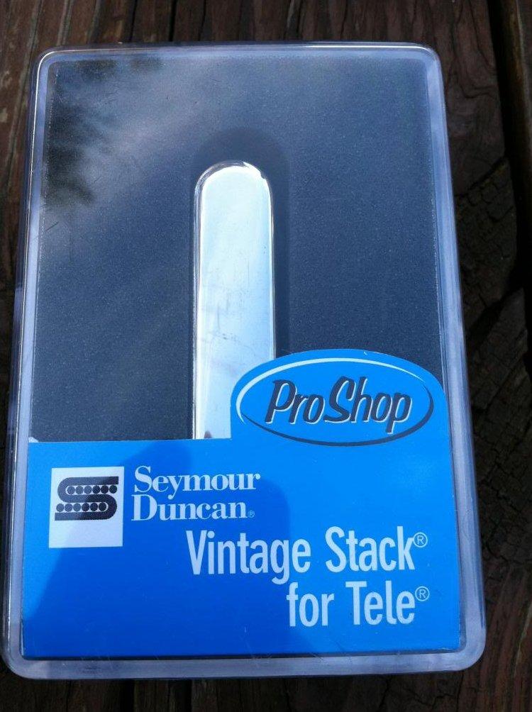 Image 0 of Seymour Duncan STK-T1 Vintage Stack Telecaster Neck Rhythm  Pickup CHROME - NEW