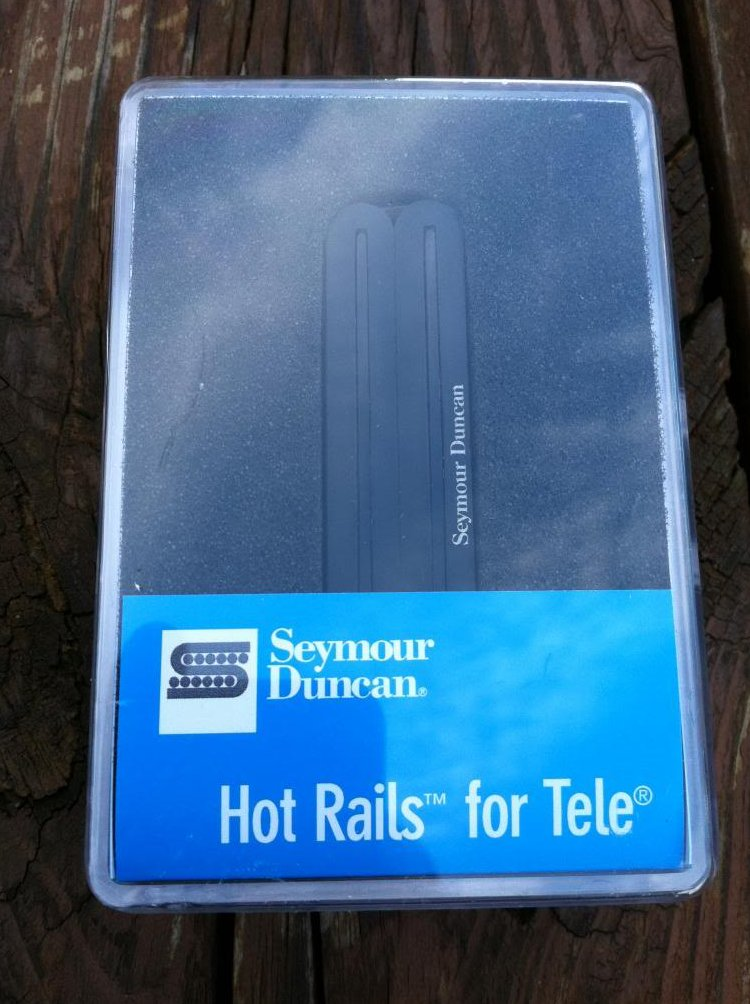 Seymour Duncan STHR-1 Hot Rails Tele Telecaster Bridge Lead Pickup BLACK - NEW
