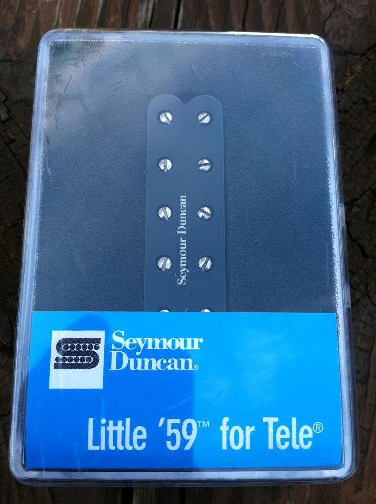 Image 0 of Seymour Duncan ST59-1 Little 59 Telecaster Tele Single Coil Lead Bridge Pickup