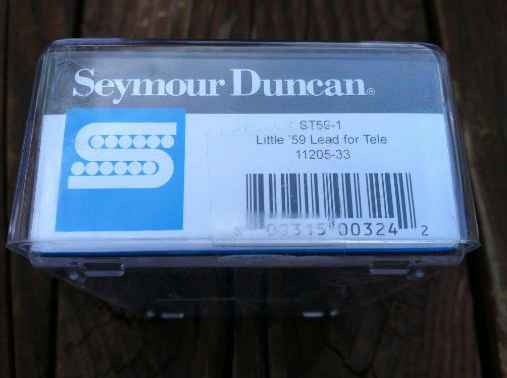 Image 2 of Seymour Duncan ST59-1 Little 59 Telecaster Tele Single Coil Lead Bridge Pickup
