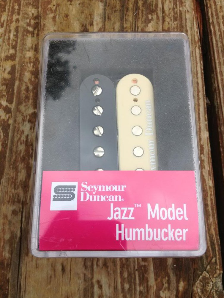 Seymour Duncan SH-2 Jazz Humbucker Guitar Pickup REVERSE ZEBRA Neck Rhythm - NEW