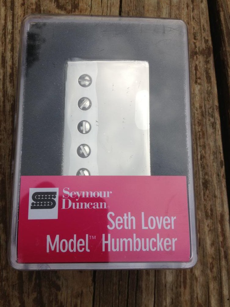 Seymour Duncan SH-55n Seth Lover Humbucker Pickup Neck Nickel Single Conductor