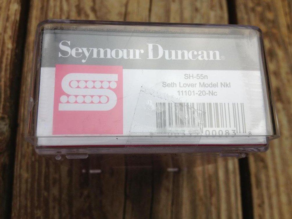 Image 2 of Seymour Duncan SH-55n Seth Lover Humbucker Pickup Neck Nickel Single Conductor