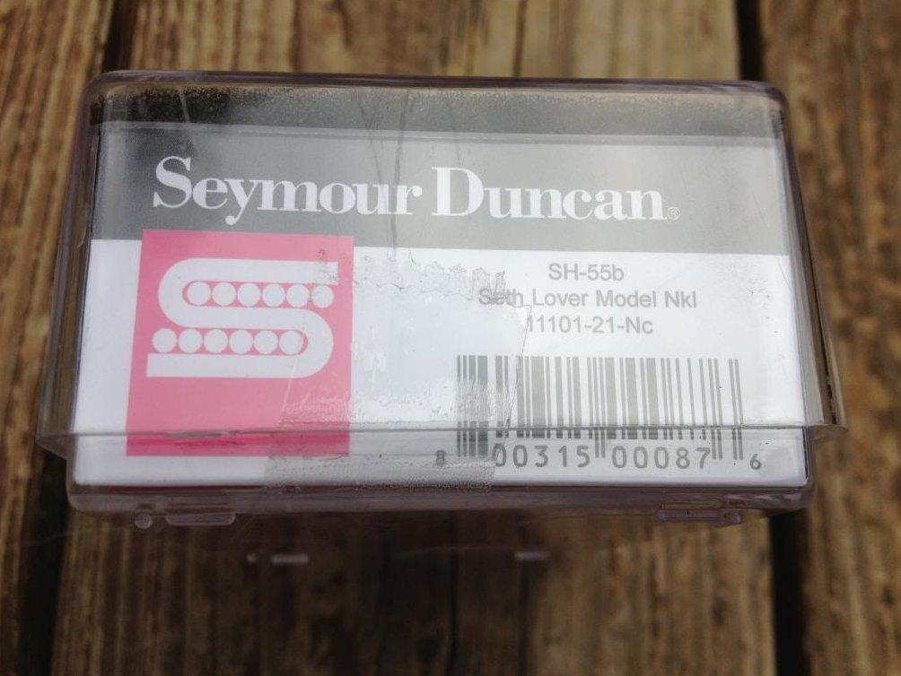 Image 3 of Seymour Duncan SH-55b Seth Lover Humbucker Pickup Bridge Nickel Single Conductor