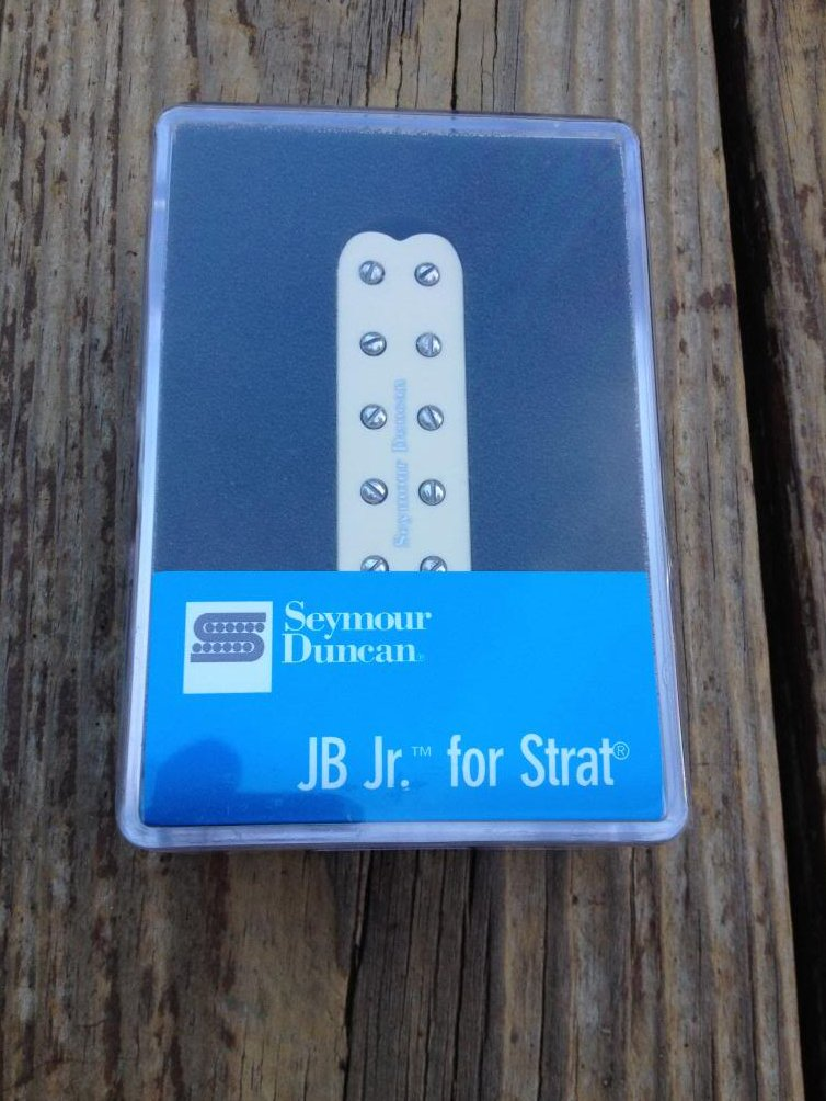 Seymour Duncan SJBJ-1 JB Jr Strat Pickup Bridge CREAM Fender Stratocaster - NEW